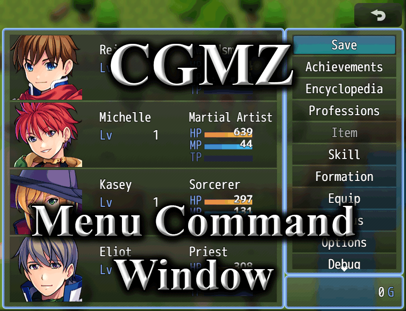 Menu Command Window