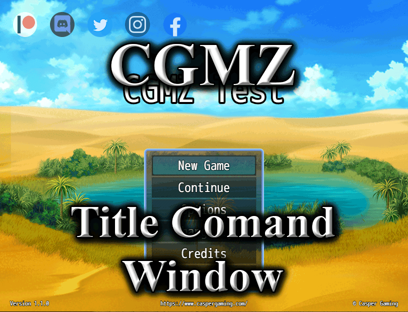 Title Command Window