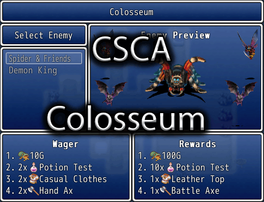 Colosseum: Wager