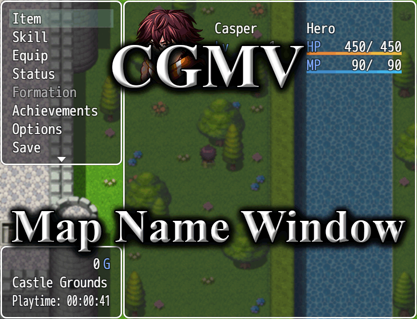 Menu Map Name Window